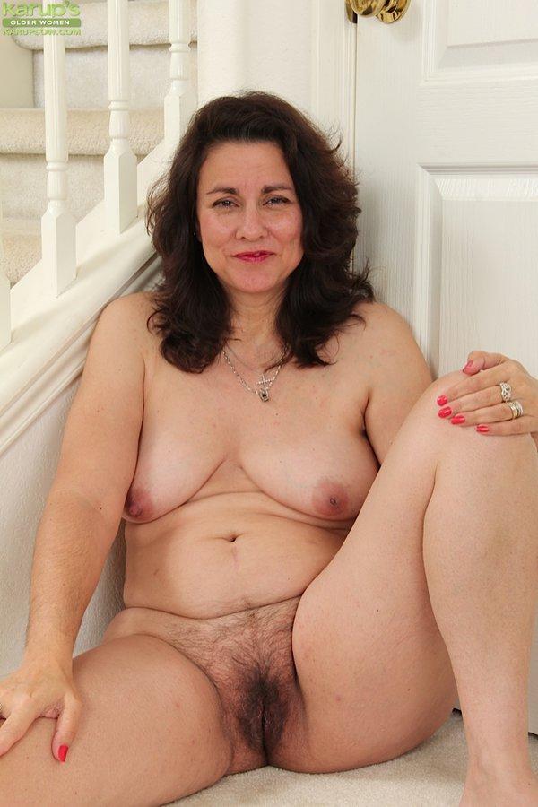 Karups mature hairy woman